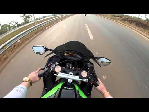 Zx10R Com Garupa Indo A Sao Miguel Passa Quatro