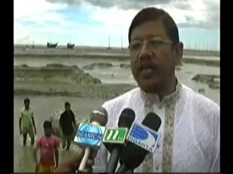 AHM Hamidur Rahman Azad MP about his Nirbachony Alaka bonna porristete