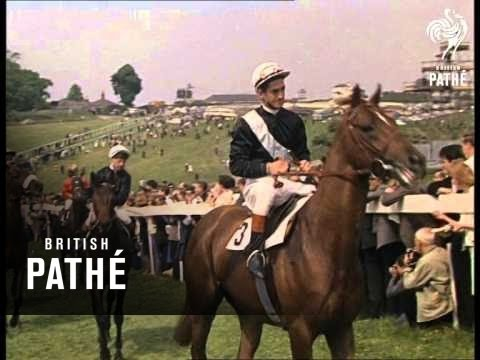 Victory of the fhe french legend Sea Bird in Epsom Derby 1965