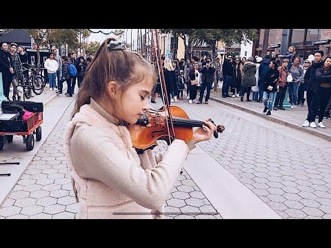 Unbelievable! 11 Year Old Violinist Plays Celine Dion
