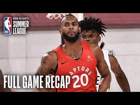 Video: RAPTORS vs PACERS | Dewan Hernandez Propels Toronto | MGM Resorts NBA Summer League