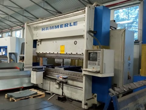 NC Hydraulic Press Brake HAMMERLE BM 200-3100 1996