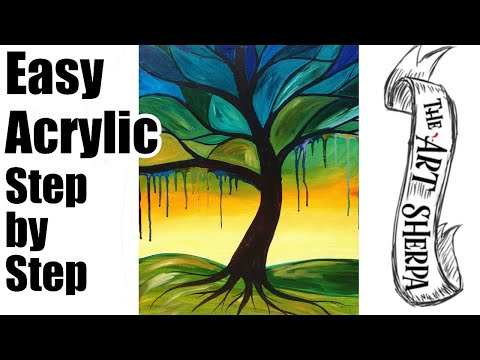 Infographic tutorial illustrator beginner tutorials for acrylic painting