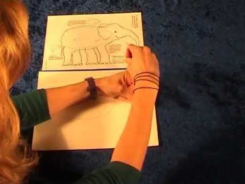 BibelKrea – Tiere zeichnen mit der Handschablone