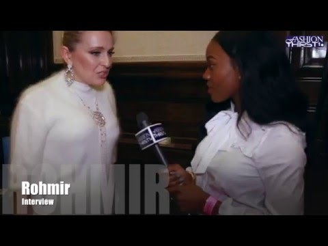 Designer Olga Roh founder of Rohmir Interview at Fashion Week