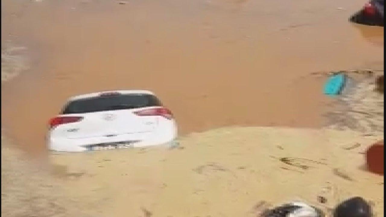 Απίστευτες εικόνες απ;o τη νεροποντή στο Μαρούσι