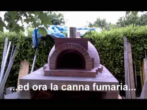 FORNO A LEGNA - Come costruire un forno a legna artigianale.