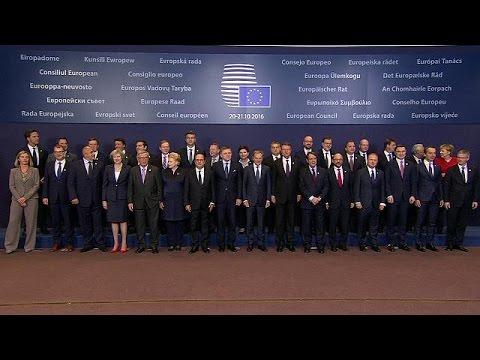 Βρυξέλλες: Καταδίκασαν τις επιχειρήσεις της Ρωσίας στο Χαλέπι οι Ευρωπαίοι ηγέτες
