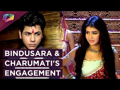 Bindusara And Charumati's Engagement | DRAMA & TWI