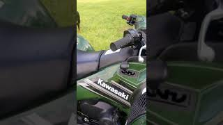 3. 2018 Kawasaki brute force 750i new