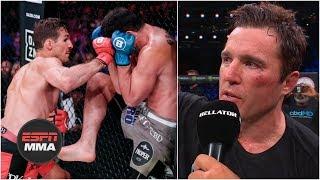 Rory MacDonald wins, Chael Sonnen retires after loss | Bellator 222 Highlights | ESPN MMA