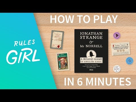 How to Play Jonathan Strange and Mr. Norrell in 6 Minutes - Rules Girl