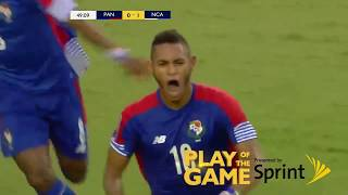 Congratulations to Panama's Ismael Diaz for making the Sprint Play of the Game versus Nicaragua! #GoldCup2017.