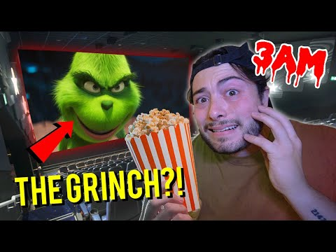 DO NOT WATCH THE GRINCH MOVIE AT 3 AM!! *HE ATTACKED US*