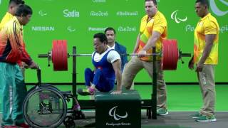 Ardon France  city photos : Powerlifting | van Cong Le wins Gold | Men's -49kg | Rio 2016 Paralympic Games