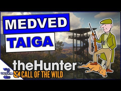 Medved-Taiga New Map TheHunter Call of the Wild (видео)