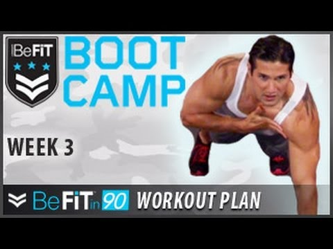 BeFit in 90 Workout Plan: Week 3- BeFiT Bootcamp