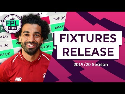 Favourable Starts For Liverpool & Man City | 2019/20 FIXTURES RELEASED! | Fantasy Premier League
