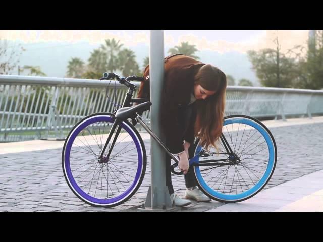 Khóa xe đạp của tương lai :D