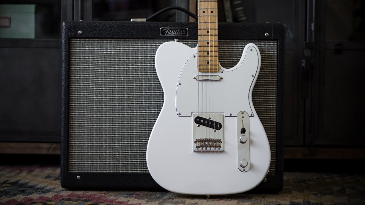 Fender Player Telecaster Electric Guitar – Demo and Features