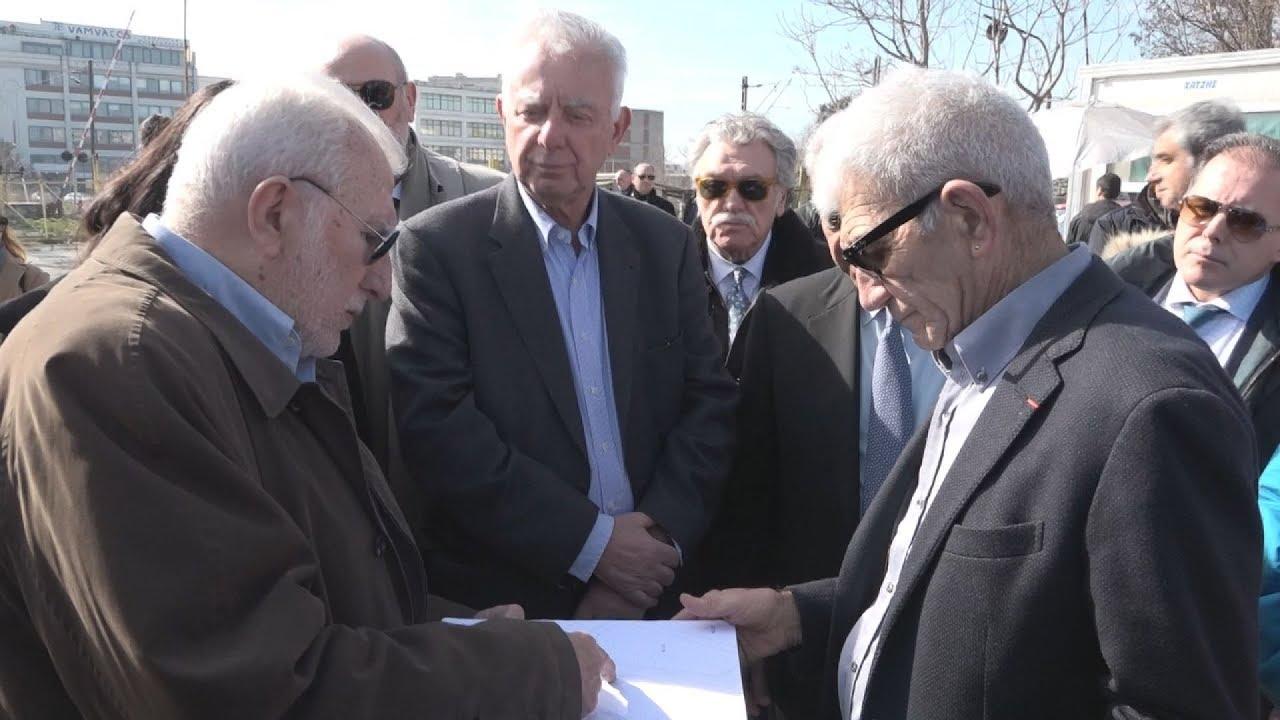 Tο χώρο που θα ανεγερθεί το Μουσείο Ολοκαυτώματος Θεσσαλονίκης, επισκέφθηκε ο Παναγιώτης Πικραμμένος