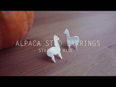 Learn Silversmithing: how to make Alpaca sterling silver stud earrings