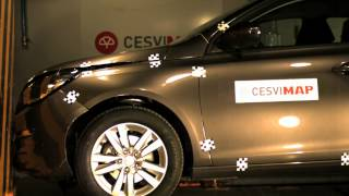 Crash Test Delantero Peugeot 308