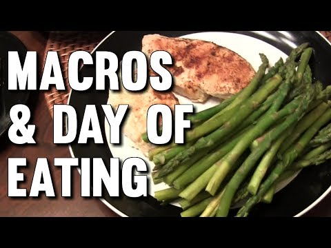 BODYBUILDING DIET – FULL DAY OF EATING & TRACKING MACROS