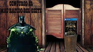 Concurso Injustice 2 Legendary Edition para PS4