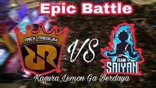 Video Kagura Lemon Ga Berdaya || TEAM RRQ VS TEAM SAIYAN MP3, 3GP, MP4, WEBM, AVI, FLV Februari 2018