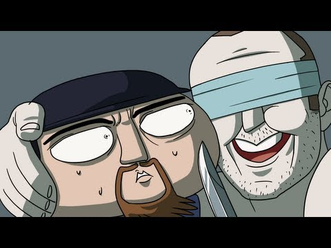 Crouching - Enjoy the video? Subscribe to the Pegbarians! http://bit.ly/Z9vmoA Want more animated shorts? Yeah!!? :D Want some gear? US Store: http://seananners.spreadsh...