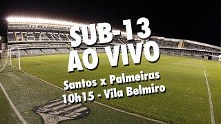 É AO VIVO, TORCEDOR! Santos e Palmeiras se enfrentam, na Vila Belmiro, pela final do Paulistão Sub-13! Na primeira partida, tudo igual, 3 a 3. O Peixe se ...