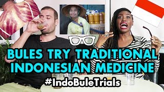 Video #IndoBuleTrials: Bules Try Traditional Indonesian Medicine - Jamu and Kerok! MP3, 3GP, MP4, WEBM, AVI, FLV April 2019