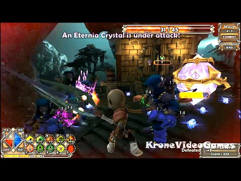 Dungeon Defenders Gameplay (PC/HD)