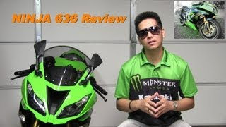 7. 2013 Kawasaki NINJA 636 ZX6R Review - Middle Weight Super Sportbike