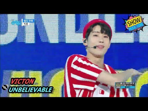 [Comeback Stage] VICTON - UNBELIEVABLE, 빅톤 - 말도 안돼 Show Music Core 20170826