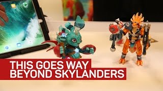 Lightseekers turns your action figure into a game controller