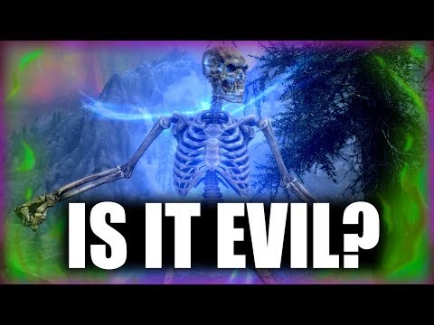 Skyrim - Is Necromancy Evil? - Elder Scrolls Lore