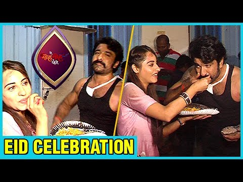 Eijaz Khan celebrates EID on the sets | Yeh Moh Mo