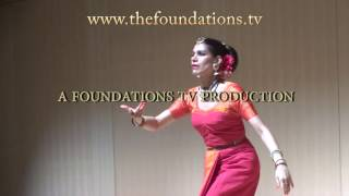 Bharatanātyam dancer Mesma Belsare performs a piece on Ardhanārīśwara