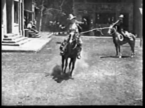 I knew Will Rogers was good with a rope, but damn.