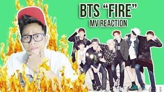 Download Video BTS 'FIRE' MV REACTION   SEMUANYA AJA DIBAKAR! MP3 3GP MP4