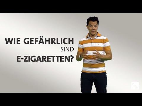 Rauchen oder dampfen - Wie gefährlich sind E-Zigaretten?