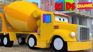 Video Construction vehicle | 3D video | Cars | vehicles for children | Video  for kids by Kids Channel MP3, 3GP, MP4, WEBM, AVI, FLV Maret 2018