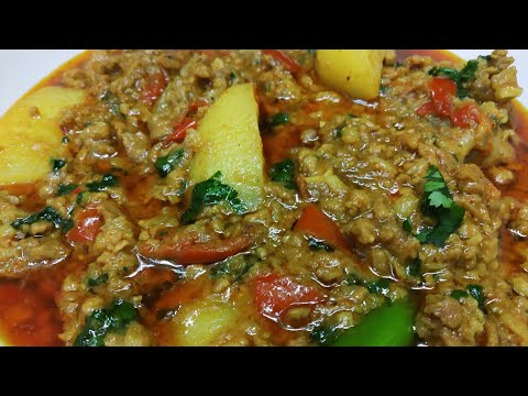 Aloo Keema Recipe | Keema Aloo Recipe | How To Make Aloo Keema | Ramzan Special Recipe