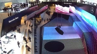 Mercedes-Benz TV: Mercedes-Benz at the IAA 2013 - Time lapse