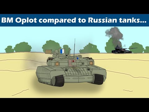 How would Ukrainian BM Oplot compare to modern Russian tanks?