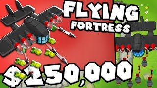 Bloons TD 6 - The Flying Fortress  - Tier 5 Monkey ACE| JeromeASF