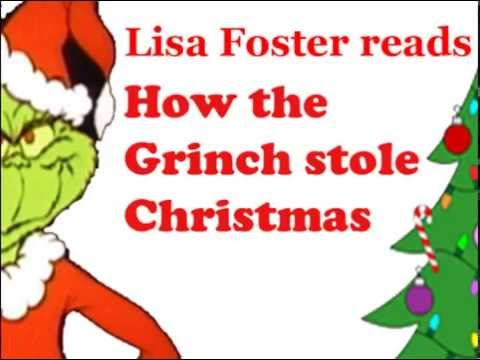 Lisa Foster Reads How the Grinch Stole Christmas