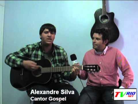 TV RIONET - Alexandre Silva (cantor gospel) Rio do Oeste 24 de maio 2013